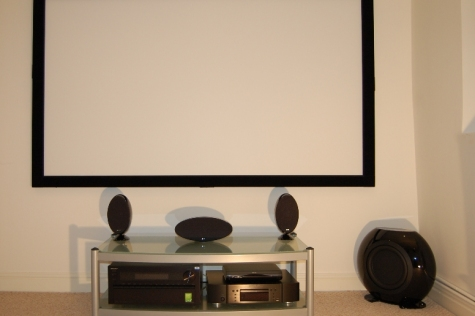 Basement Cinema - 6ft Screen