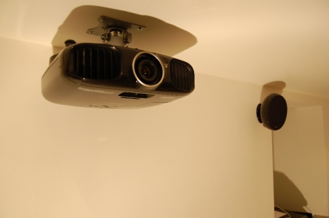 Basement Cinema - Projector