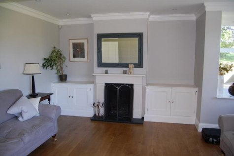 Concealed electric plasma lift - Flat Screen TV Installation